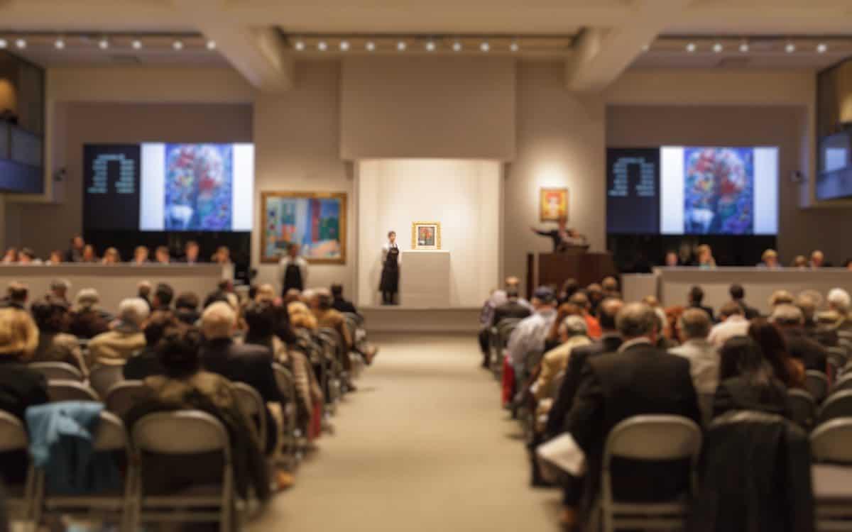 Auktionskosten bei Kunstauktion